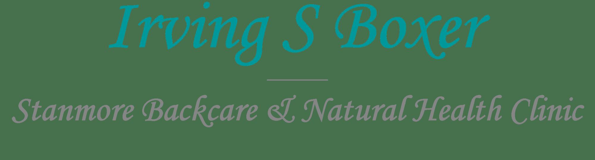 Irving S Boxer Logo.